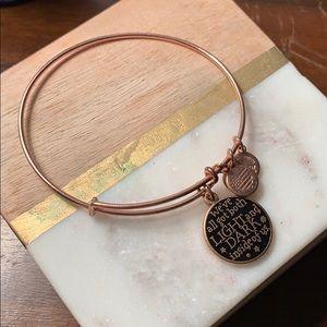 Alex and Ani Harry Potter bracelet